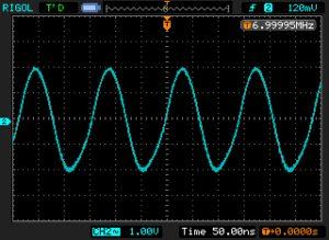 7.0 MHz